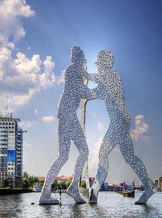 Molecule Man, Berlin, Germany by Wolfgang Staudt, via Flickr. #molecule #man #berlin