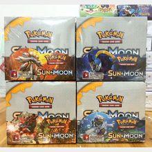 Sol y Luna 324 unids Pokeball pokemon XY Juguete Tarjetas Inglés Tarjeta de pokemon EX Tarjeta de Bolsillo Caja de Juguetes de Anime De Comercio Para niños