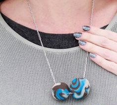 Marble Beads DIY Necklace | AllFreeJewelryMaking.com