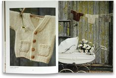 From Erica Knight natural nursery knits - great book with lots of gorgeous patterns.