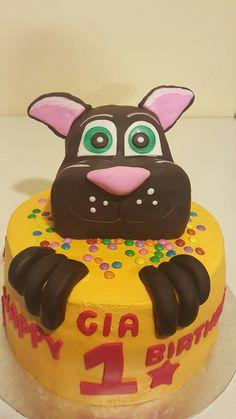 Talking Tom Birthday Cake Daisy Cupcakes, Birthday Ideas, Birthday Cake, Projects To Try, Baby Boy, Desserts, Cake, Tailgate Desserts, Birthday Cakes