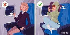 Если вы часто путешествуете самолетом или вам хоть раз доводилось переносить длительные перелеты, то вы наверняка представляете, насколько утомительно это может быть.Поэтомудля вас несколько полезны...