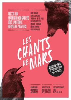 Les Chants de Mars 2013, Lyon