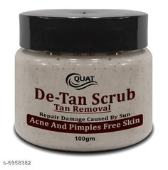 Checkout this latest Face Scrubs & Exfoliators Product Name: * De- Tan Face Scrub* Product Name:  De- Tan Face Scrub Multipack: 1 Skin Type: All Skin Types Country of Origin: India Easy Returns Available In Case Of Any Issue   Catalog Rating: ★4.1 (777)  Catalog Name: Face Scrub CatalogID_1111212 C170-SC2043 Code: 791-6958382-933