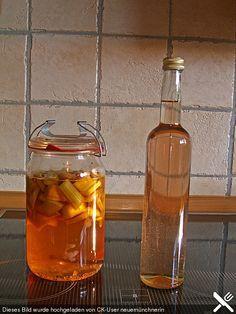 Rhabarber - Vanille - Likör (Rezept mit Bild) von Mutti79 | Chefkoch.de