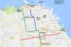 If you're planning to ride a cable car in San Francisco, this step-by-step guide has everything you need to know: San Francisco Cable Car Map: Where They Go, Which One to Ride
