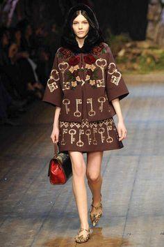 Dolce & Gabbana Winter 2015 Collection #MFW #AW14  #FashionWeek milan, fashion weeks, runway fashion, catwalk, winter, fall 2014, dolc, gabbana fall, photo galleries