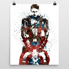 Custom Civil War Captain America poster by PixArtsy. Shop PixArtsy.com for posters, mugs, pillows & more of your favorite teams and characters. FREE US Shipping