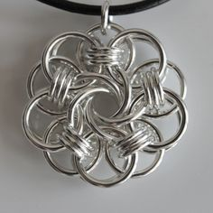 Helm and Mobius pendant