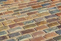 Driveway Design, Tile Floor, Flooring, Patio, Paving Stones, Round Round, House, Ideas, Tile Flooring