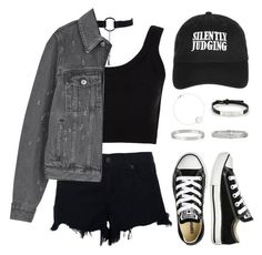 """""""Untitled #269"""" by gr20gk on Polyvore featuring Calvin Klein Collection, rag & bone, Givenchy, Converse, Topshop and Cartier"""