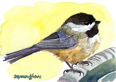 ACEO Limited Edition  2/25- A little visitor