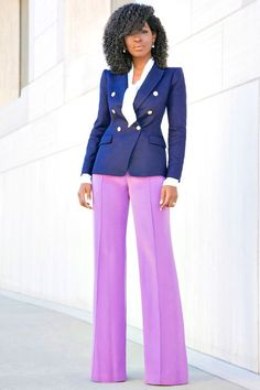 Outfit Details: Blazer: Available here (wearing a sz 2 and also further altered) or similar styles here (blazers are great investment pieces) | Blouse (Loft324-old): Similar here or here | Pants (Faus