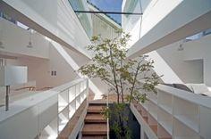 Jardín interior en Japón | domusxl