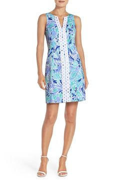 Lilly Pulitzer® 'Ryder' Beaded Cotton Sheath Dress available at #Nordstrom