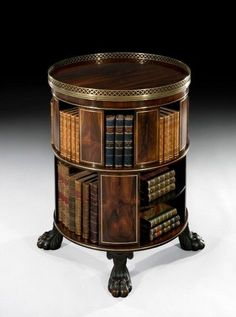 A gorgeous example of the kind of bookcase we'd still love to have! Georgian furniture is so elegant!