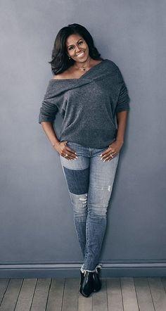 First Lady Michelle Obama Michelle Obama Quotes, Michelle Und Barack Obama, Barack Obama Family, Michelle Obama Fashion, American First Ladies, Black Presidents, Beautiful Black Women, Black Girls, My Style