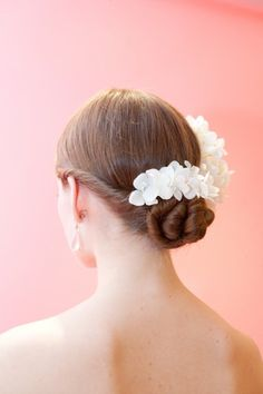 Beautiful flower pins from the spring Badgley Mischka collection.