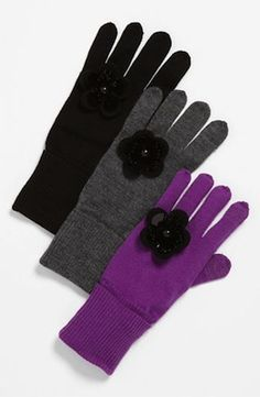 Kate Spade New York Magnolia Knit Tech Glove