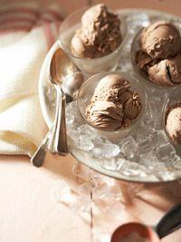 Mexican Chocolate And Almond Ice Cream Recipe — Dishmaps