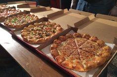 3 cheese stuffed crust pizza