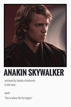 Star Wars Love, Star War 3, Star Wars Art, Artist Film, Film Trilogies, Star Wars Quotes, Hayden Christensen, Movie Prints, Star Wars Wallpaper