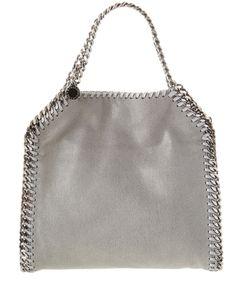 STELLA MCCARTNEY STELLA MCCARTNEY FALABELLA SHAGGY DEER MINI TOTE'. #stellamccartney #bags #shoulder bags #hand bags #suede #tote #lining #