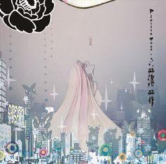 space dog association, compeito: plastic tree / 落花 (rakka)released on. Madoka Magica, Angel Of Vengeance, Super Hero Life, Aya Takano, Different Art Styles, Fairytale Art, Stop Motion, Character Design Inspiration, Magical Girl