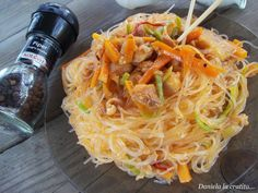 Asian Recipes, Ethnic Recipes, I Want To Eat, Wok, Noodles, Spaghetti, Easy Meals, Good Food, Food And Drink
