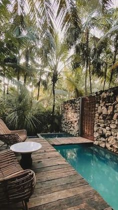 Swimming Pools Backyard, Swimming Pool Designs, Backyard Pool Designs, Small Backyard Pools, Outdoor Rooms, Outdoor Living, Outdoor Decor, Oregon, Small Pool Design