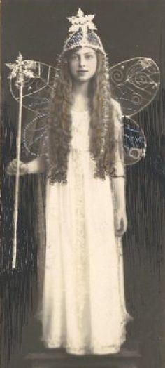♕ Vintage Costume Variations ♕  fairy girl