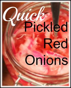 Quick and easy, these pickled red onions are perfect for topping tacos, traditional Vietnamese banh mi sandwiches or adding to a salad.