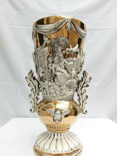 Catawiki online auction house: Capodimonte - large vase