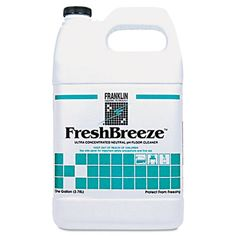 Franklin F378822 Cleaning Technology FreshBreeze Ultra Concentrated Neutral pH Cleaner #F378822 #Franklin #TAACleanersDetergents  https://www.officecrave.com/franklin-cleaning-technology-f378822.html