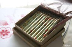 Cute floral pencils