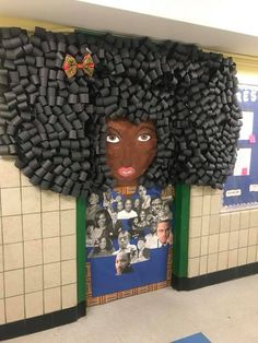 This New York City Teacher Turned Black Hair Into A Magical Work Of Art To Celebrate Black History Month