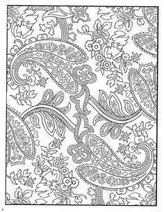 Amazon Paisley Designs Coloring Book Dover Design Books 9780486456423 Marty Noble
