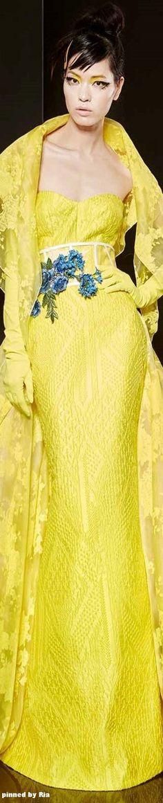 Yolan Cris Spring/Summer 2016 Couture l Ria