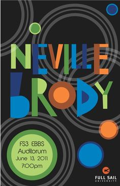 Neville Brody Lecture Poster by Maria Iorio, via Behance Typographic Design, Typography Art, Lettering, Double Spaced Essay, British Airways, Mise En Page Magazine, Neville Brody, Peter Saville, David Carson