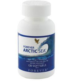 Focus sur les Oméga 3  La recrudescence des fast-foods et les repas pris rapidement sur le pouce ne nous encouragent pas à entretenir une alimentation saine et équilibrée.  Forever Arctic-Sea se compose d'acides gras insaturés, les oméga-3, dont de l'EPA (acide eicosapentaénoïque) et du DHA (acide docosahexaénoïque) présents dans les huiles de poissons et de calamar.