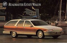 1993 Buick Roadmaster Estate Wagon THE last dinosaur complete with imitation wood grain side panels!!!