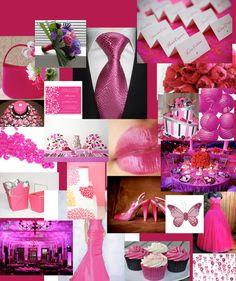 weddings themes | Fuscia Pink wedding theme