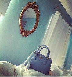 Blue Prada www.luxabags.com
