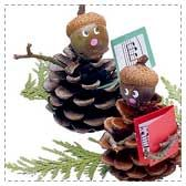 pine cone christmas carol Christmas Pinecone Crafts