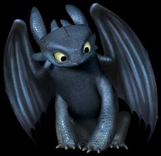 How to train your dragon toothless looking down