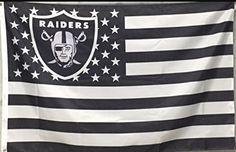 Oakland Raiders 3x5 Ft American Flag Football New In Packaging | Sports Mem, Cards & Fan Shop, Fan Apparel & Souvenirs, Football-NFL | eBay!