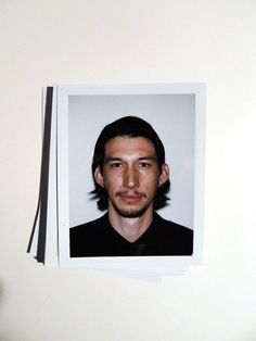 Shooting Film: Awesome Celebrity Polaroid Portraits from 2013 Golden Globes' Night - Adam Driver