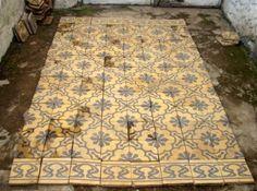 Indonesian antique floor