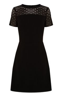 We have given the LBD a little spring makeover by way of a lace lattice top detail and a cut that is so flattering you will do a double take in the mirror. Yep, you really DO look that good.