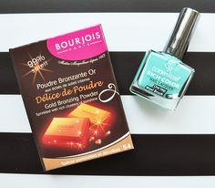 Bourjois Delice de Poudre + Golden Rose Lacquer  http://fiuubzdziu.pl